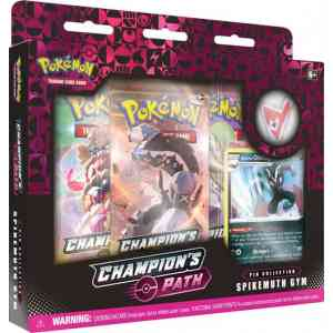 Pokmon TCG Champions Path Spikemuth Gym Pin Collection Large