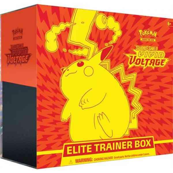 Pokmon TCG Schwertschild 4 Vivid Voltage Elite Trainer Box
