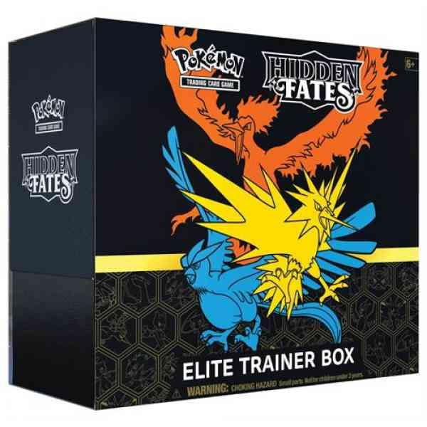 Hidden Fates Elite Trainer Box groß