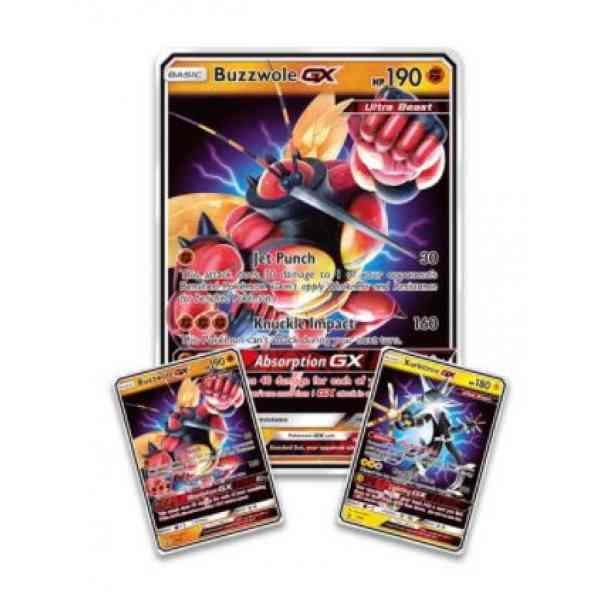 Ultra Beasts Buzzwole GX Premium Collection promo kaarten