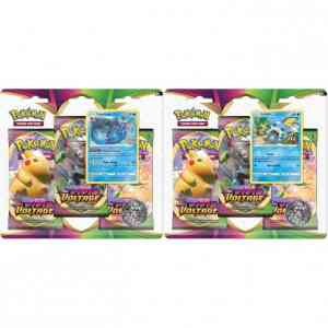 Vivid Voltage 3 pack blister bundel van 2 (Vaporeon & Sobble)