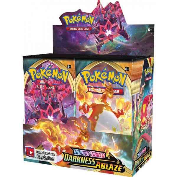 pokemon espada proteger oscuridad en llamas caja de refuerzo