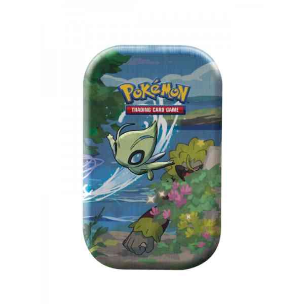 Pokemon Shining Fates celebi Mini tin