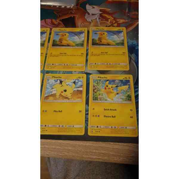 Cartas de Pikachu Pokemon parte 2