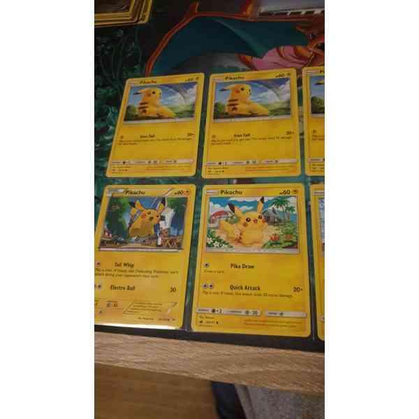 Cartas de Pikachu Pokemon parte 3
