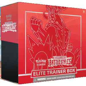 Pokemon TCG Sword Shield - Battle Styles Elite Trainer Box Single Strike Urshifu