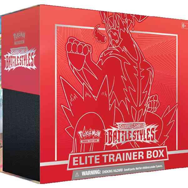 Pokemon TCG Sword Shield - Battle Styles Elite Trainer Box Single Strike Urshifu