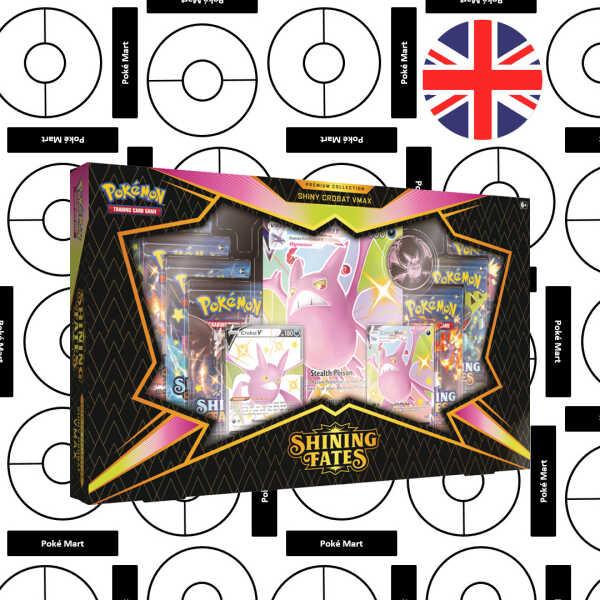 Shining Fates premium Collection Shiny Crobat Vmax