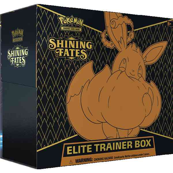 Pokemon Shining fates elite trainer box eevee vmax