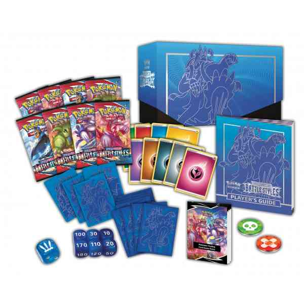 Pokemon TCG Sword Shield - Battle Styles Elite Trainer Box Rapid Strike Urshifu Inhoud
