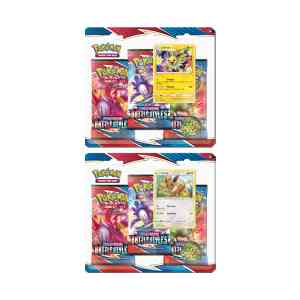 Sword shield battles styles 3 booster blister