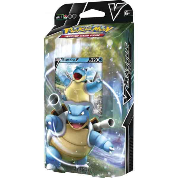 Pokémon V Battle Deck - Blastoise-V Seite