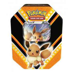Pokemon Eevee Fall tin V Powers