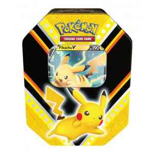 Pokemon Pikachu Fall tin V Powers