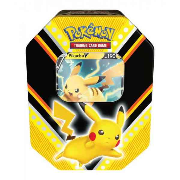 Pokemon Pikachu Fall tin V Powers