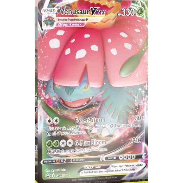 Pokémon Schwert & Schild Kampfstile Venusaur VMAX
