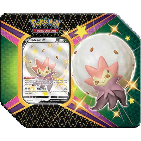 Pokémon Shining Fates Tin Eldegoss V.