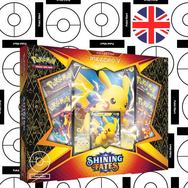 shining fates pikachu v collection box pokemart.be