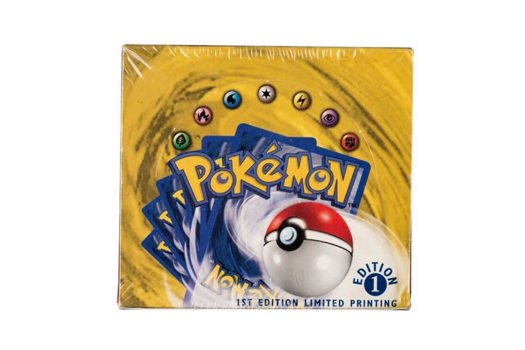1st edition limited printing base booster box