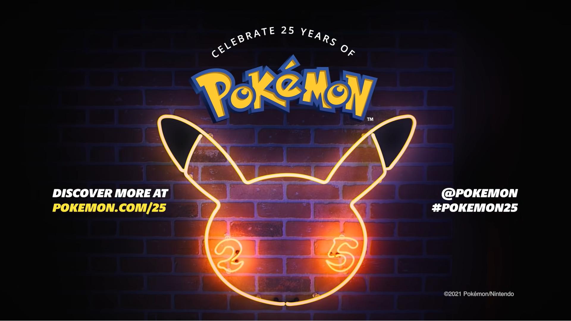 25th Anniversary banner Pokemon Pokemart.be