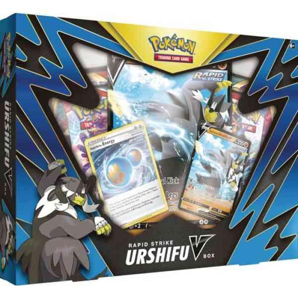 Pokenmon Battle styles Rapid strike Urshifu V box