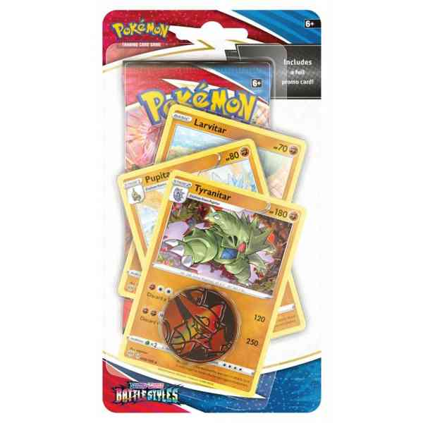 Pokémon Sword & Shield Battle Styles Premium Checklane Blister Tyranitar