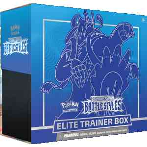 Pokemon TCG Sword Shield - Battle Styles Elite Trainer Box Rapid Strike Urshifu