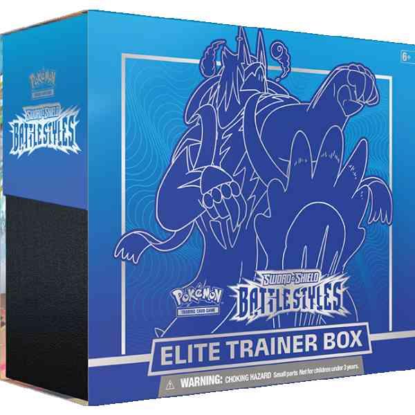 Pokemon TCG Schwertschild - Kampfstile Elite Trainer Box Rapid Strike Urshifu