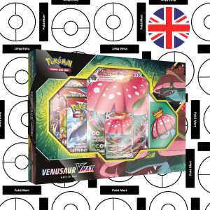 Pokémon Sword & Shield Battle Styles Venusaur VMAX Box