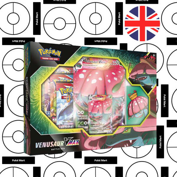 Pokémon Schwert & Schild Kampfstile Venusaur VMAX Box