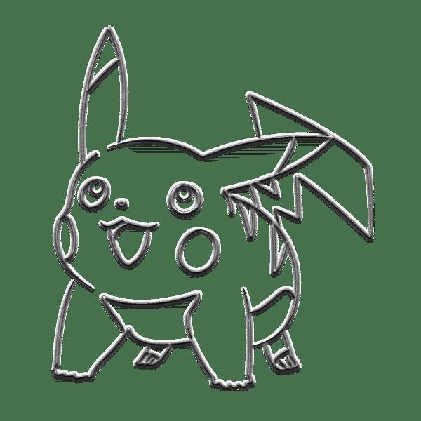 Pokemart metallic pikachu