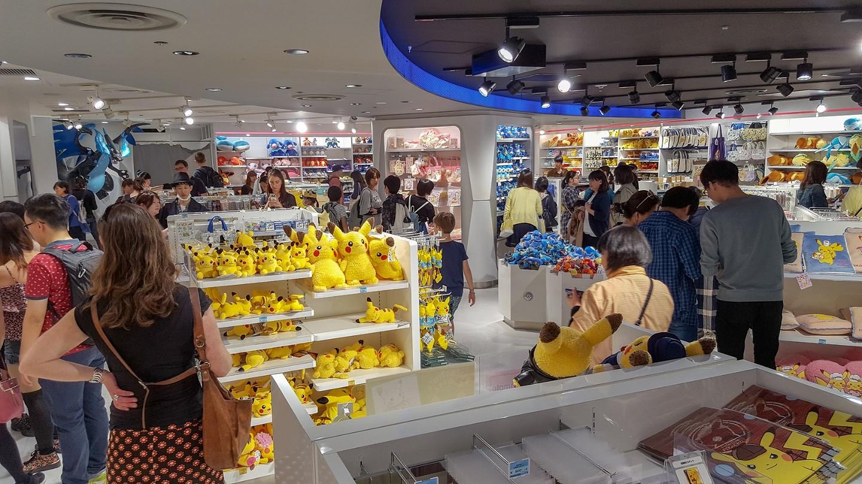Wat is een Pokemonwinkel?