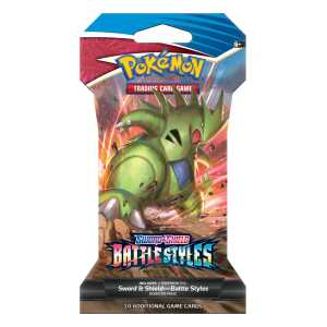 Sword shield battles styles sleeved booster Tyranitar
