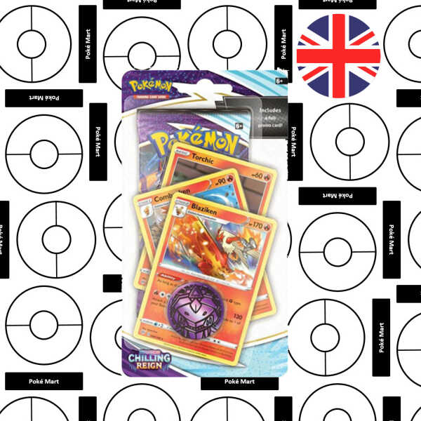 Chilling Reign Premium Checklane Blister Blaziken Pokemart.be