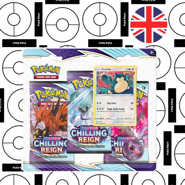 Pokemon Chilling Regent 3er Pack Blister Snorlax pokemart.be