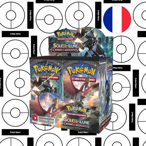 Booster-Anzeige Ombres ardentes pokemart.be