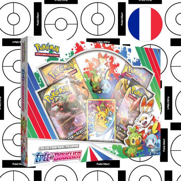 Coffret Pokémon Epee et Bouclier Sammlung mit Figur - FR