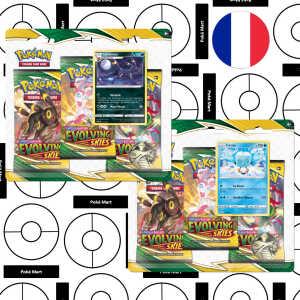 Pokémon Evolution Céleste Tri-pack booster FR pokemart.be
