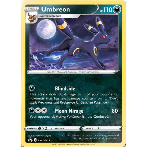 Umbreon promo card pokemart.hé