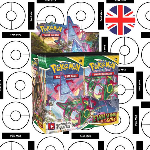 Pokemon Evolving Skies booster box pokemart.hé