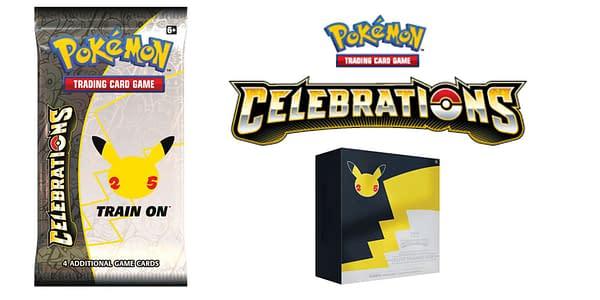 De 25th anniversary set is bekend Pokémon Celebrations