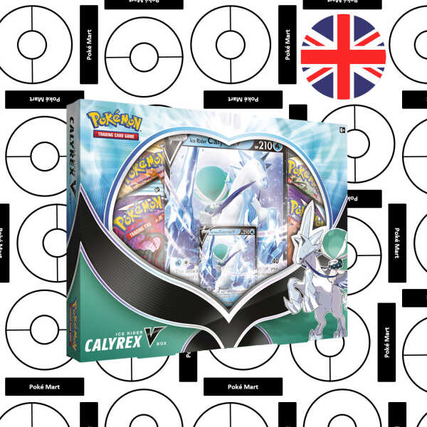 Caja Ice Rider Calyrex V Pokemart.be
