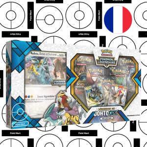 coffret Légendes de johto GX Collection