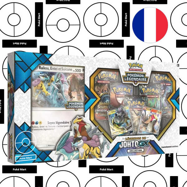 Coffret Legends de johto GX Collection
