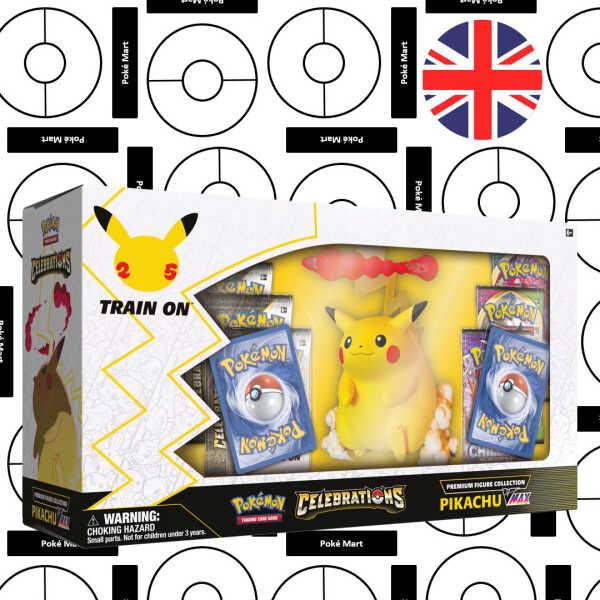 Pokémon 25th Anniversary Celebrations Figure Collection Pikachu VMAX Pokemart.be