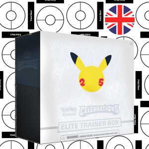 Pokémon 25th Anniversary Celebrations Elite Trainer Box Pokemart.be