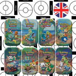 Pokémon 25th Anniversary Celebrations Mini Tin Set pokemart.be