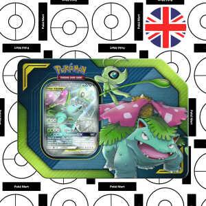Celebi Venusaur GX tin pokemart.be